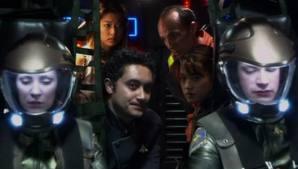Esrin, Finn, Brooks, Osmice i Gaeta.