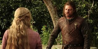 Cersei govori Nedu o igri prijestolja