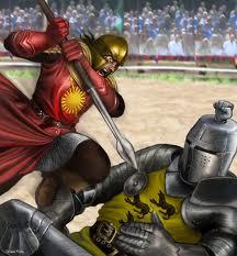 Dvoboj Gorostasa i Crvene Guje
