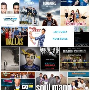 Ljeto 2012 – Raspored novih serija i povratnika naTV