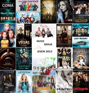 Jesen/zima 2012/2013 – raspored novih serija i povratnika naTV
