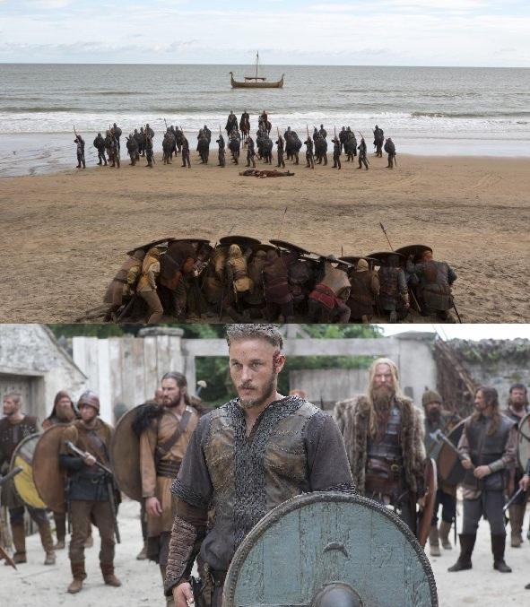 Vikings scene