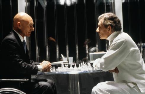 Profesor Charles Xavier i Magneto (X-Men, 2000)