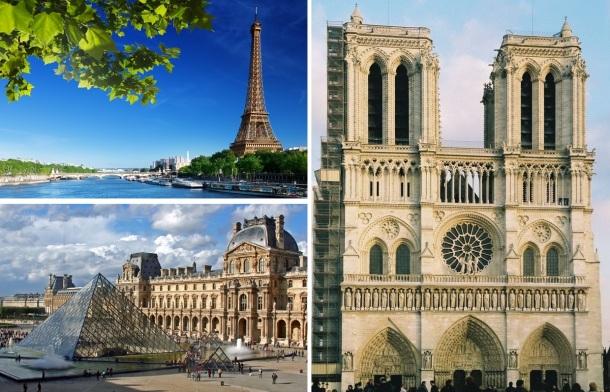 """""""Plavo nebo bez oblačka prelijevalo se u boje sumraka, u njemu su se nazirale bijele i sive zgrade, a presijecali su ih široki bulevari i trgovi posuti lišćem. Seine se nalazila točno pod nama, Louvre gotovo odmah preko puta, a kad sam pogledala niz rjeku, vidjela sam Notre-Dame."""""""