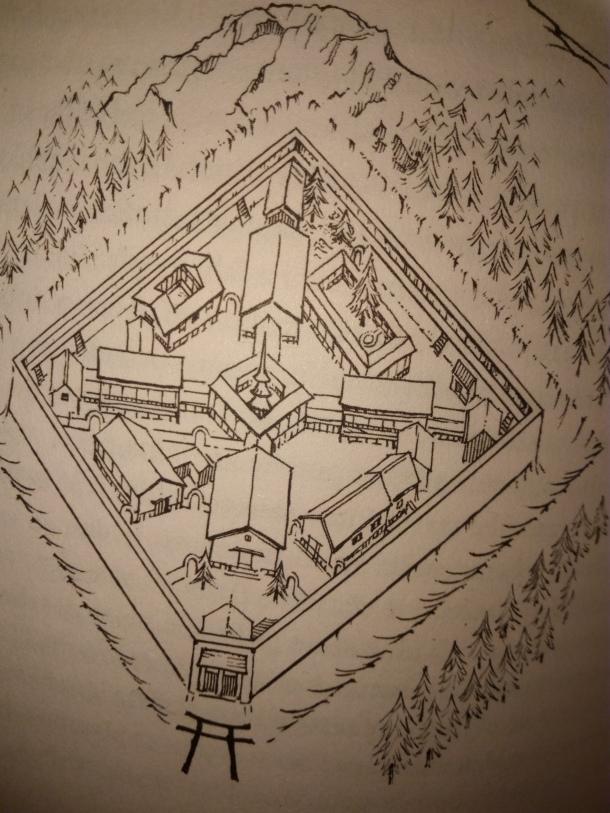 Samostan u kojem je Orito bila zatočena